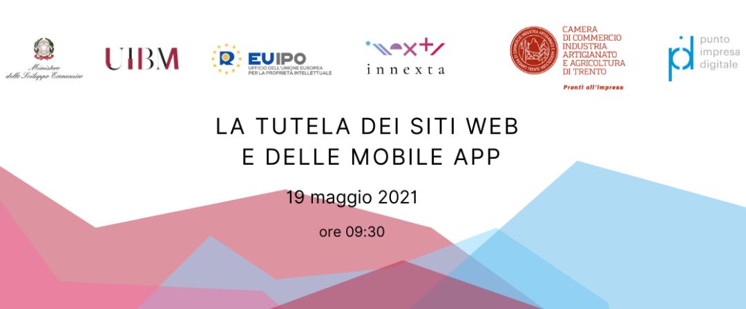 Webinar Tutela Siti Web e App